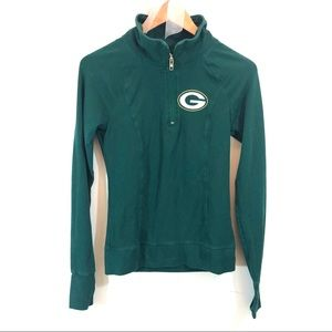 Victoria's Secret PINK Green Bay Packers Pullover